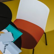 Mixu chairs by Gensler for Arper