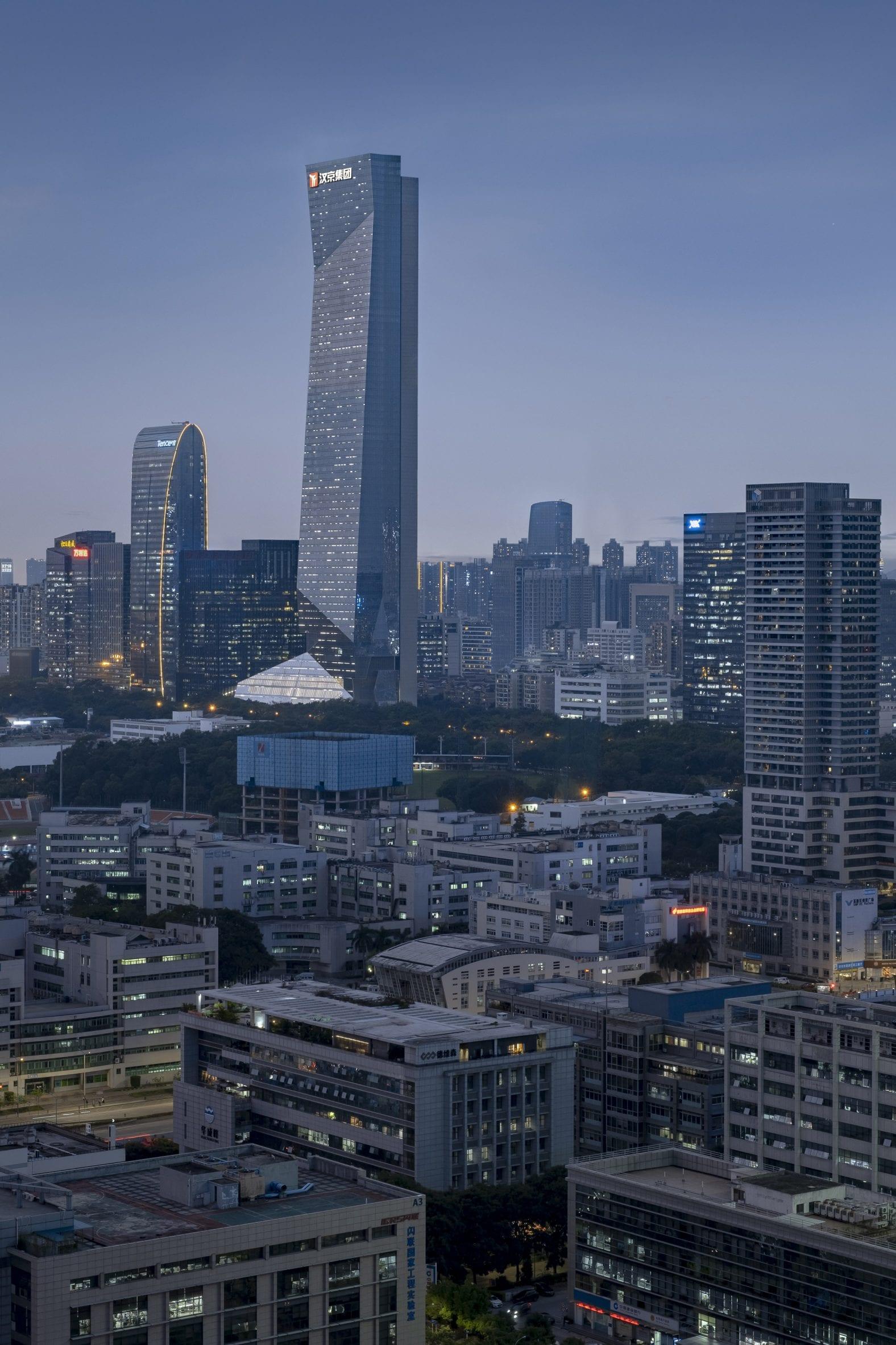 Hanking Center supertall skyscraper in Shenzhen