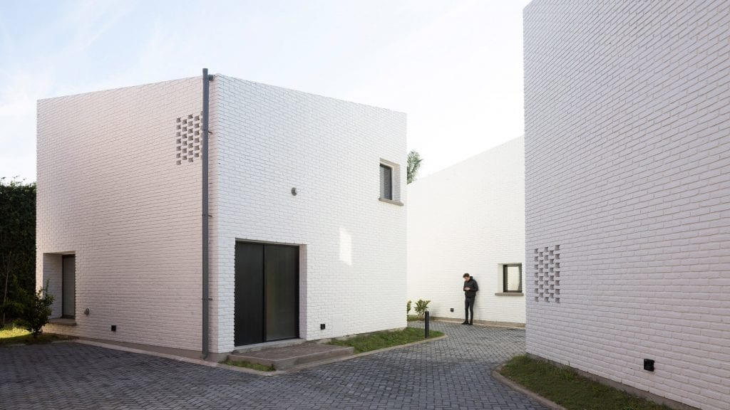BBOA creates homes with slanted roofs for Morrison complex in Argentina