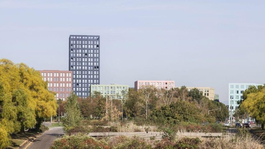 The Nolistra development in Strasbourg