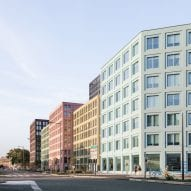 LAN Architecture designs pastel-coloured housing in Strasbourg