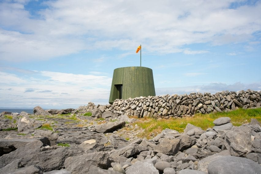Green structure on Inis Oírr