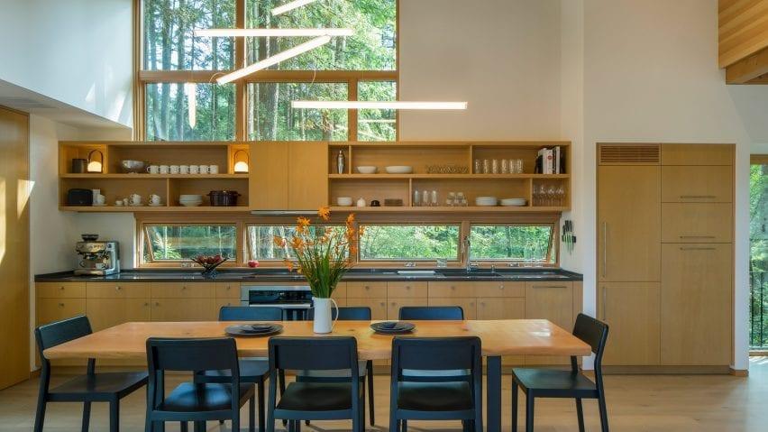 One wall kitchen by David Van Galen