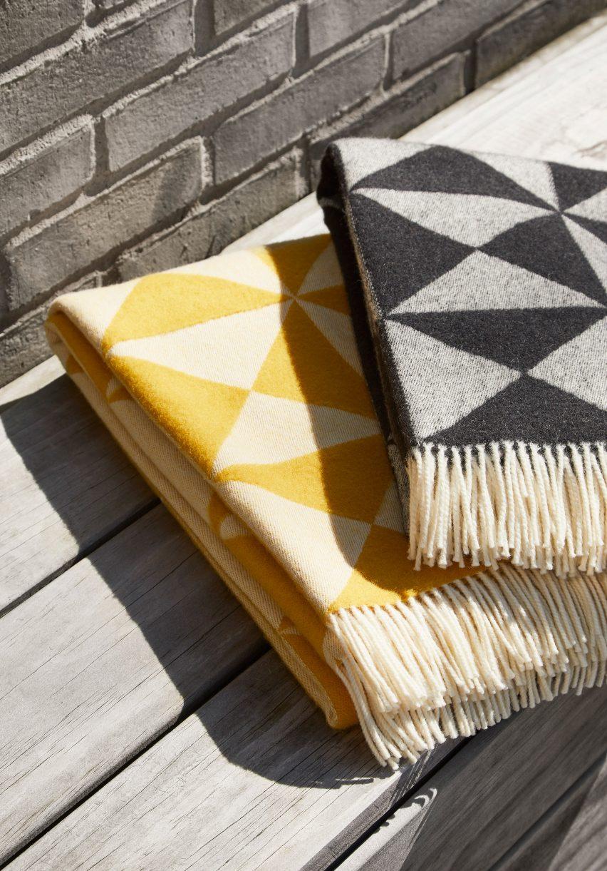 Mirror blanket by Verner Panton for Verpan