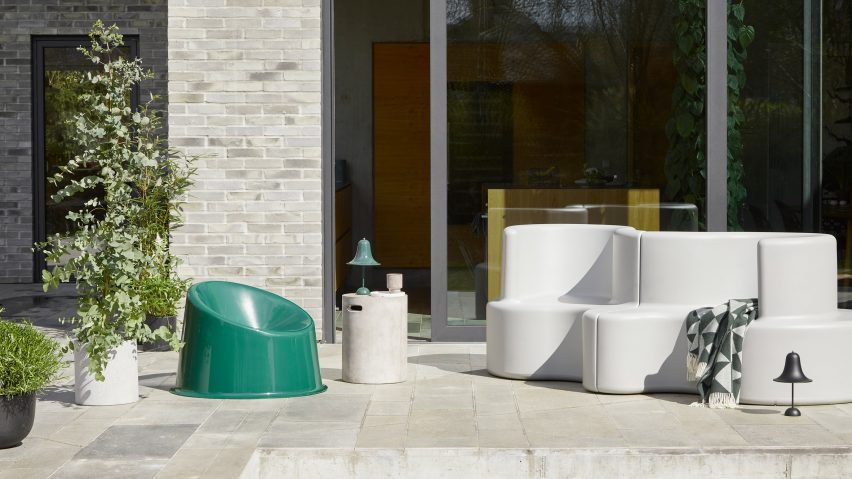 Outdoor spring collection by Verpan
