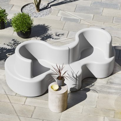 Outdoor furniture by Verpan