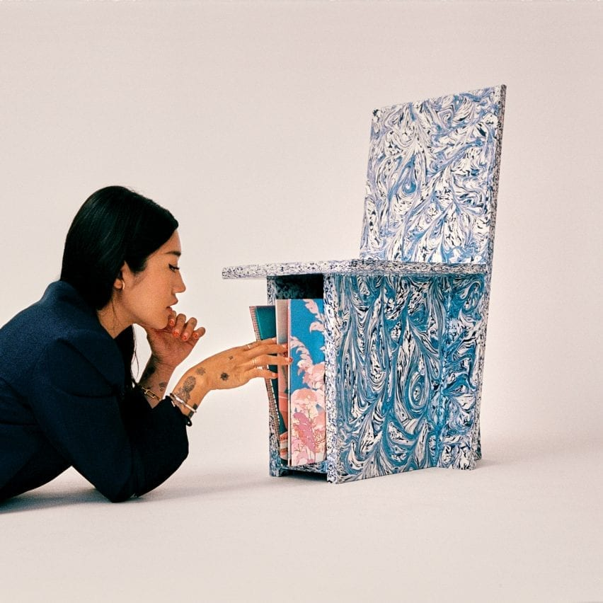Trash to Chair by Peggy Gou and Space Available