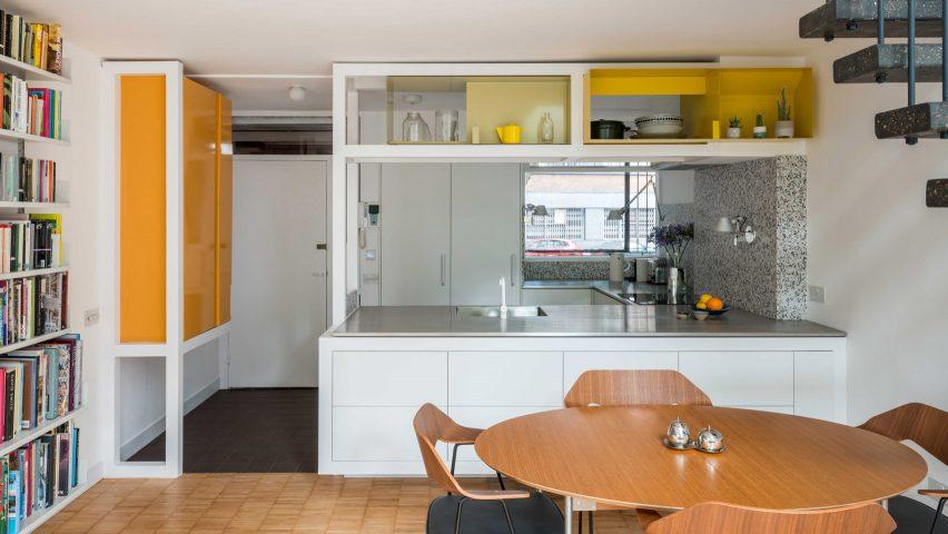 Golden Lane flat renovation in London, UK, by Archmongers