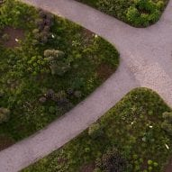 pathways have an assymetrical design