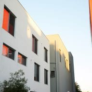 Large windows punctuate the facade