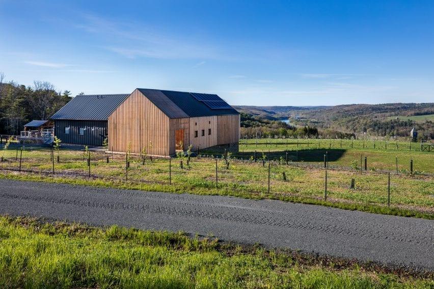 Sustainable Barn in the Catskills New York
