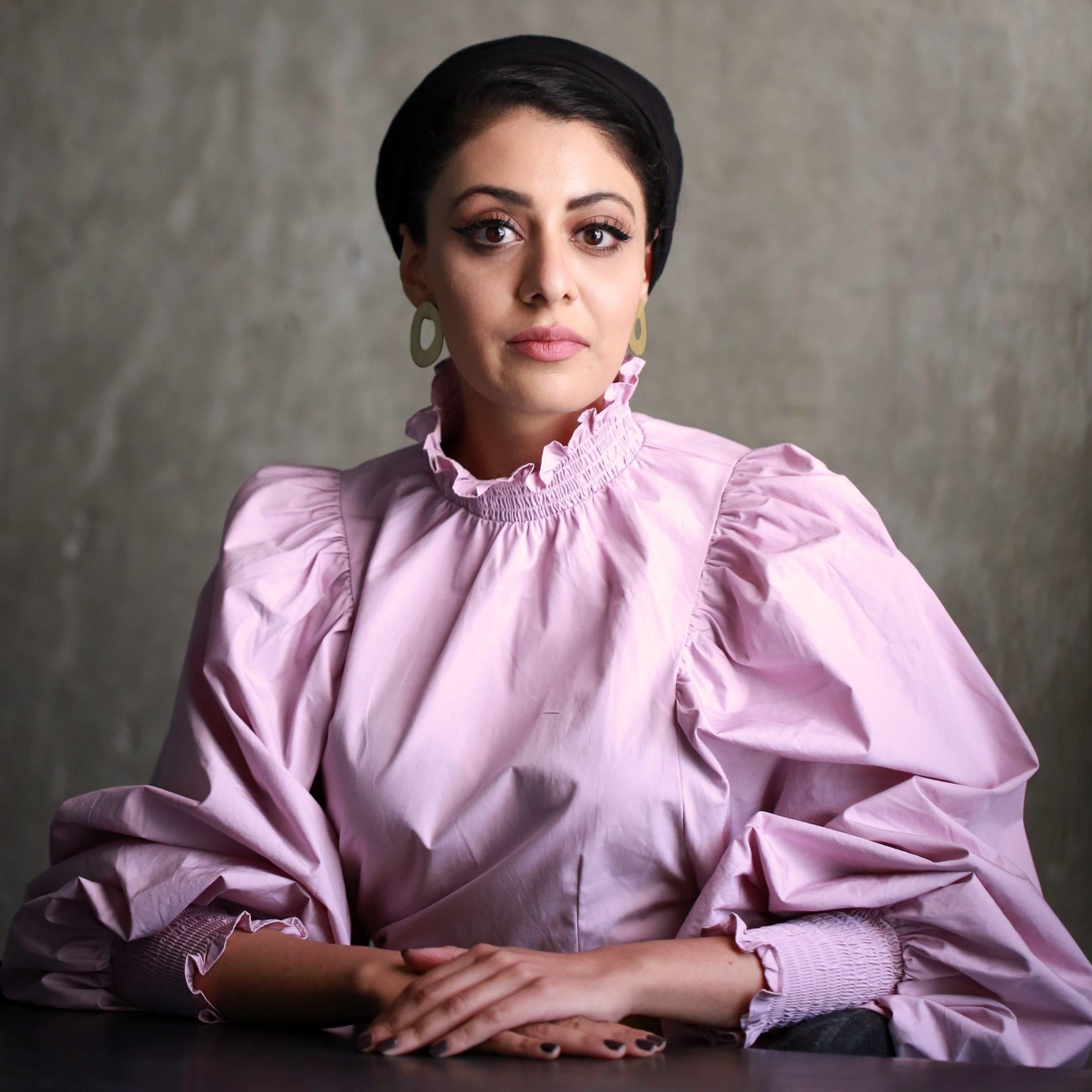 Sumayya Vally, director of Counterspace. Portrait by Dezeen