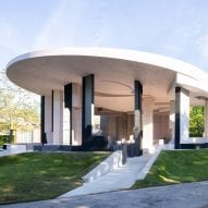"""Serpentine Pavilion celebrates """"places with a history significant to migration"""" says Sumayya Vally"""
