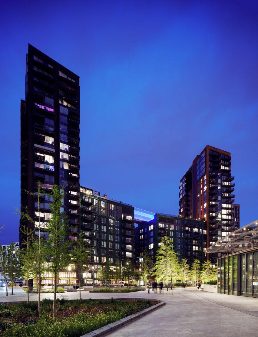 Embassy Estates development in Battersea
