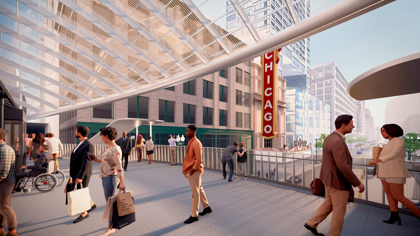 State/Lake Station redesign by SOM