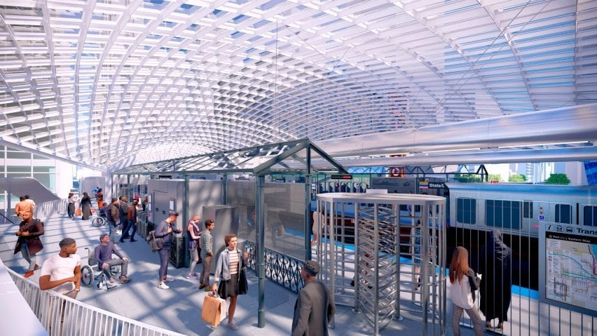 State/Lake Station by SOM in Chicago