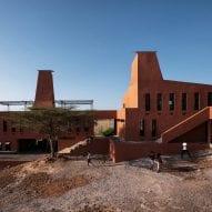 Termite mounds inform Kéré Architecture's design of Kenyan education campus