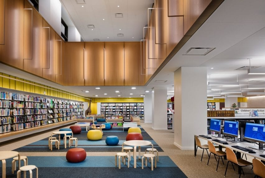 The Children's Library and Teen Centre in the Stavros Niarchos Foundation Library