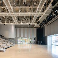The centre has a large auditorium
