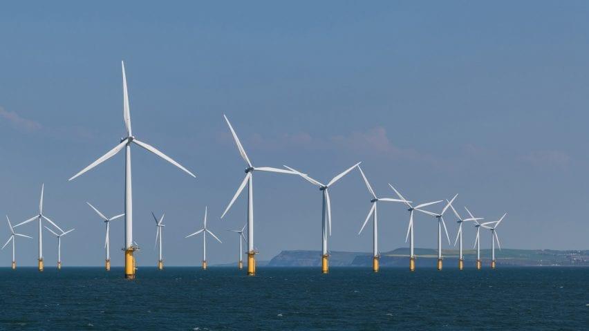 Off-shore windfarm