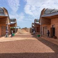 The courtyard of Burkina Institute of Technology