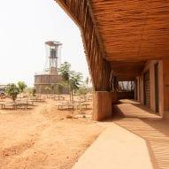 A corridor of Burkina Institute of Technology