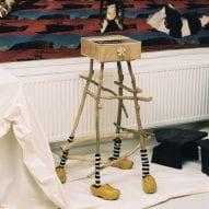 A sculptural table by Eduard Barniol