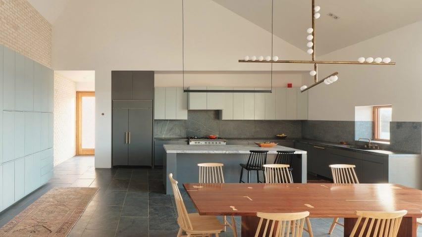 Three Chimney House kitchen