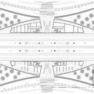 Plans for Tulum train station by Aidia Studio