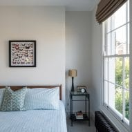 Bedrooms have a classic look