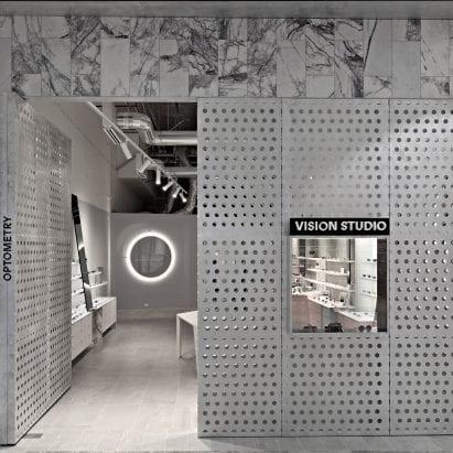 Vision Studio interior by Studio Edwards