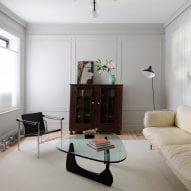 Schissel Montgomery Architects renovates Brooklyn flat for art gallerist