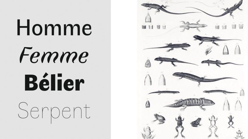Boulanger explains how we perceive different typefaces