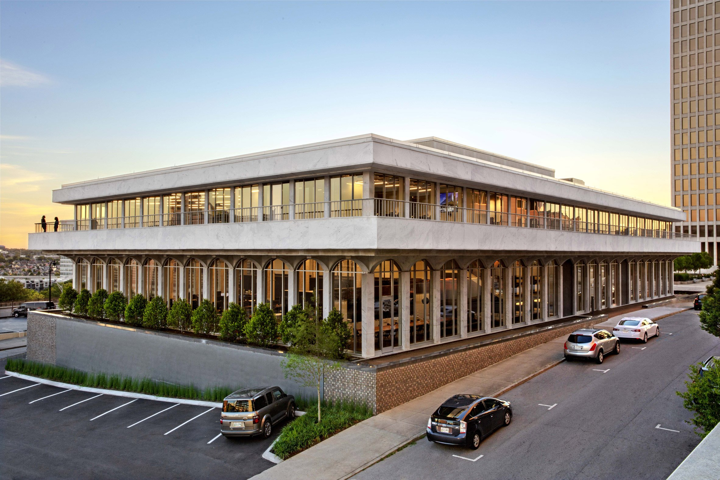 Hastings Architecture designed the project