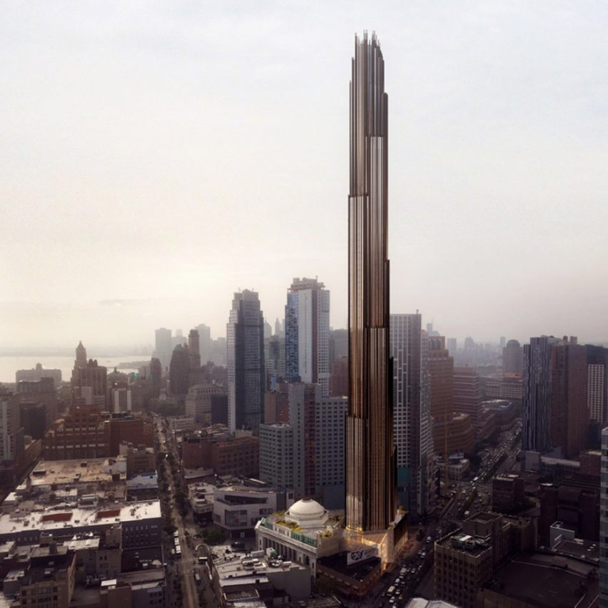 9 DeKalb by SHoP Architects becomes Brooklyn's tallest building