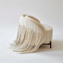 AME Natural Lounge chair by Paolo Ferrari via Twentieth