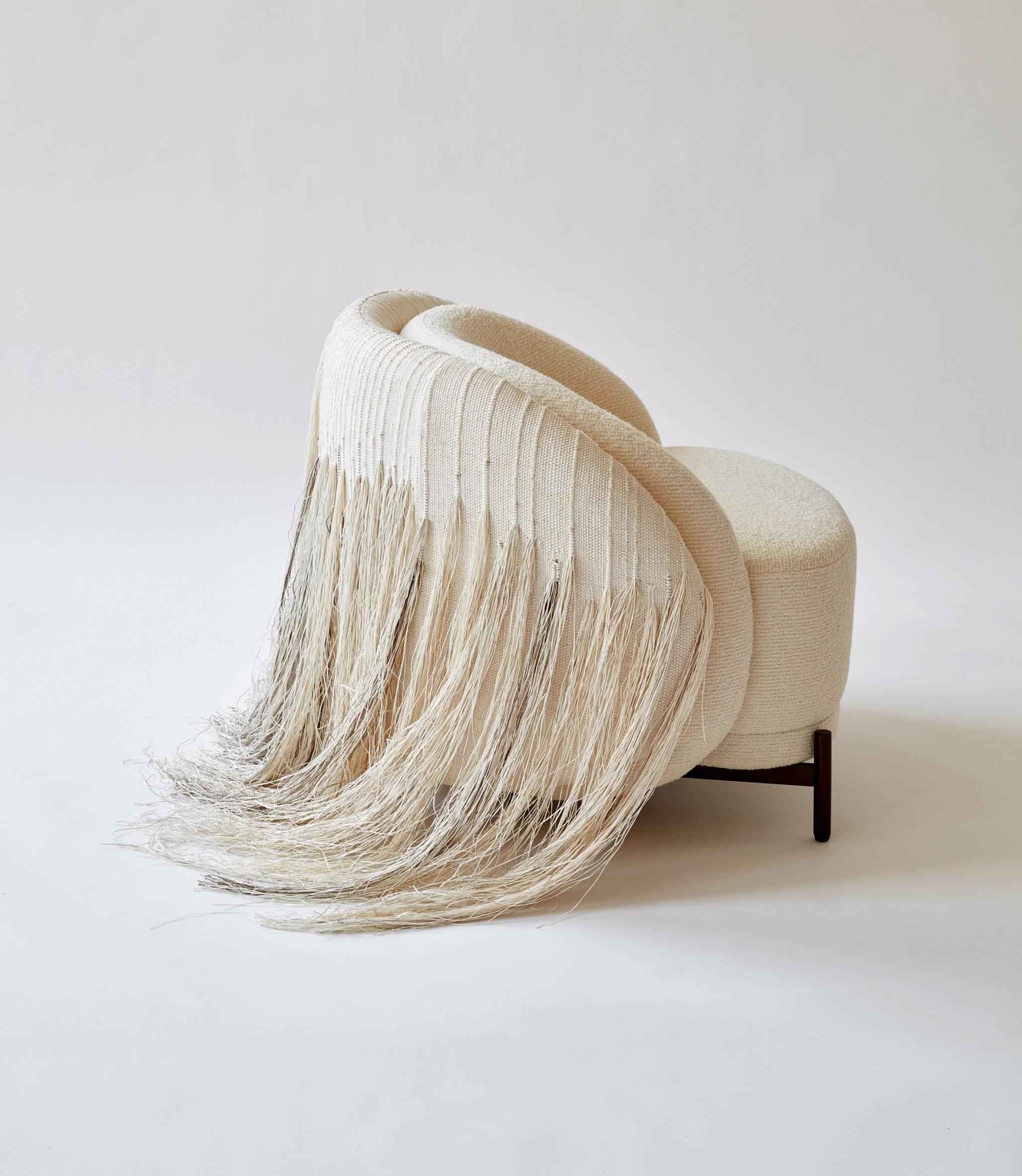 AME Natural Lounge chair by Paolo Ferrari via Twentieth Gallery