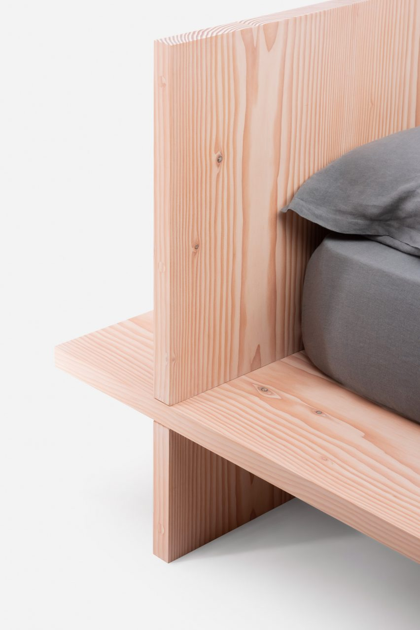 Bed One by Manuel Aires Mateus for De La Espada