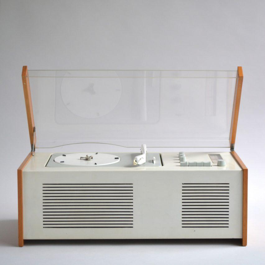 Braun SK 4 audio player