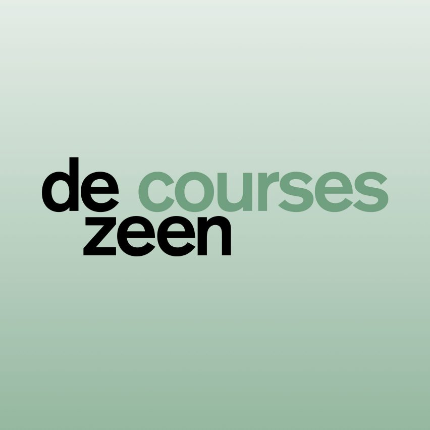 Dezeen Courses is an affordable way to showcase architecture and design courses