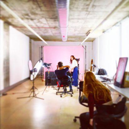 Dezeen studio space