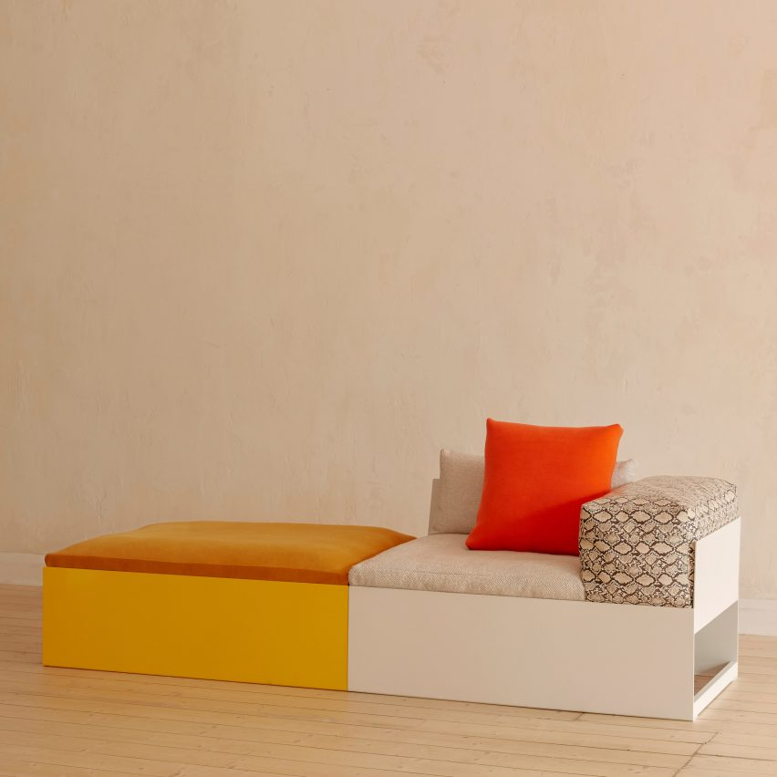 Mello sofa by Steelotto
