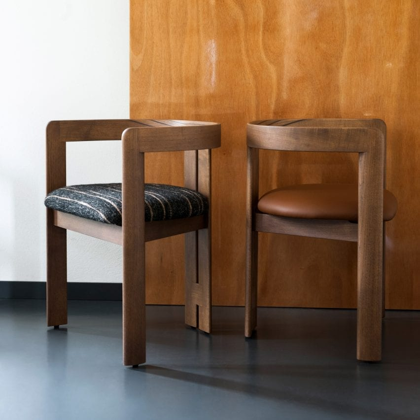 Pigreco chair by Tobia Scarpa for Tacchini
