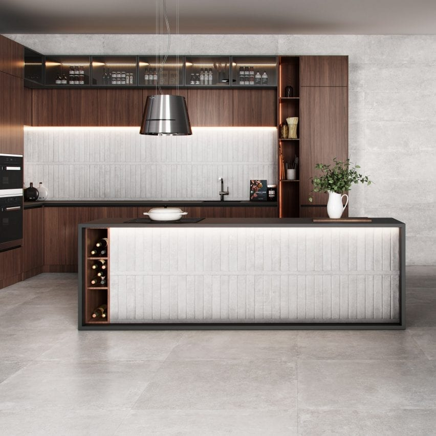 Rockwell tile collection by Saloni