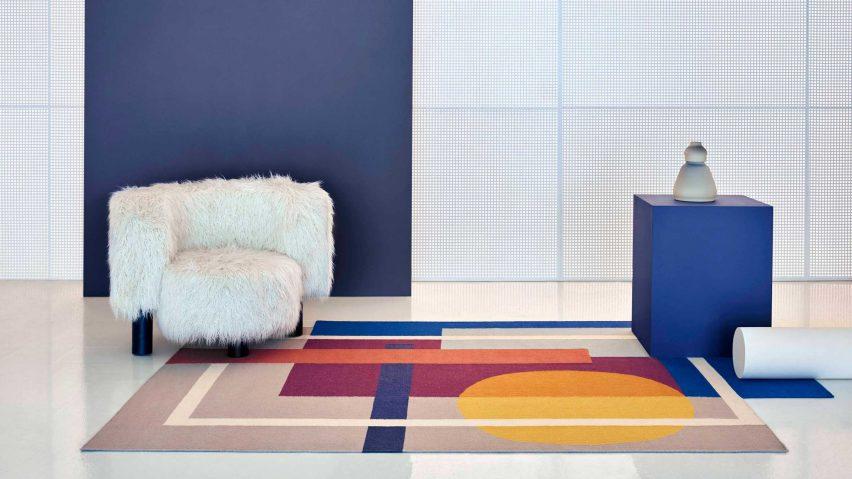 Zoe Sool rug by Daria Zinovatnaya for Gan