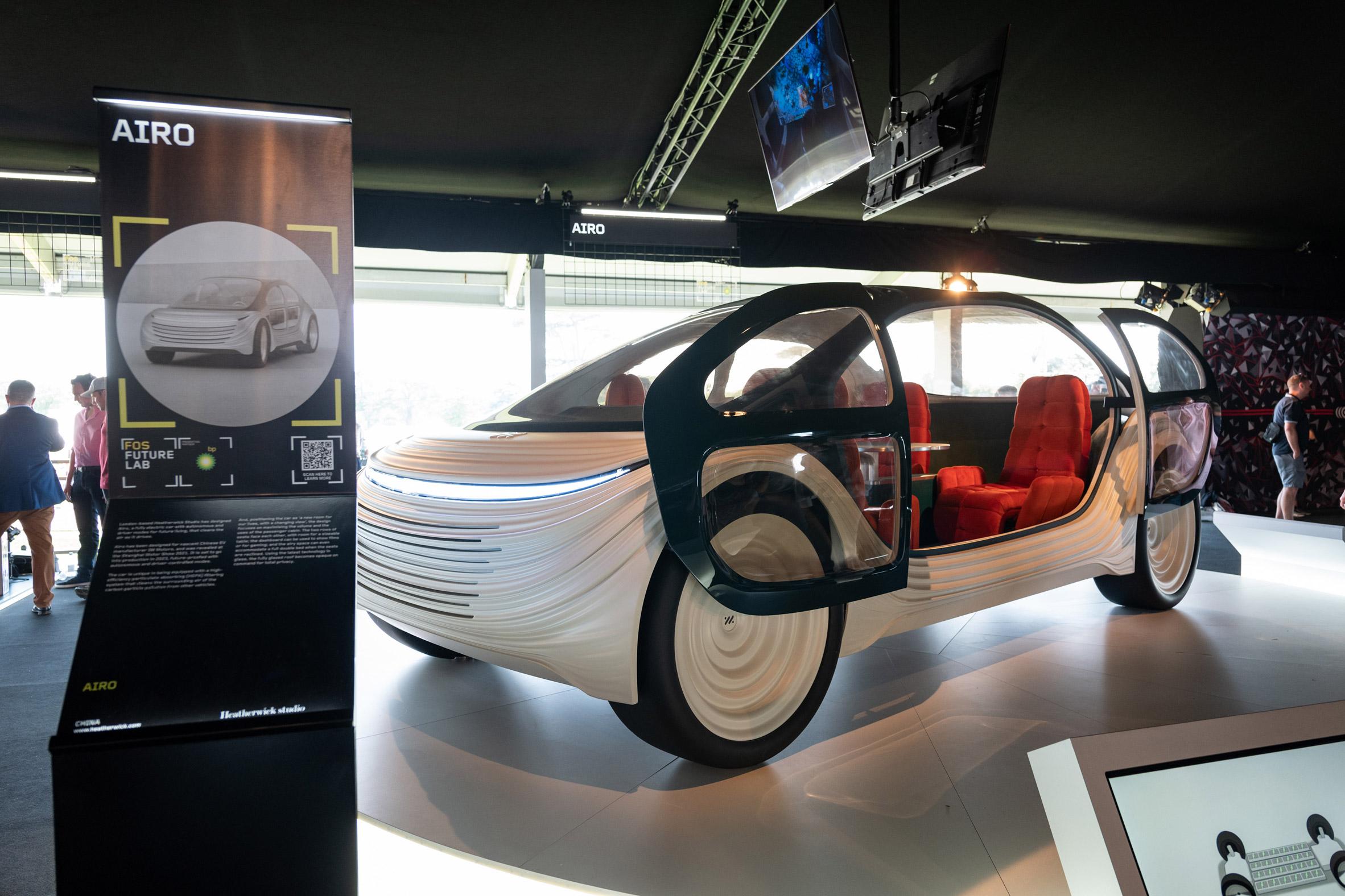 Electric car prototype by Heatherwick Studio