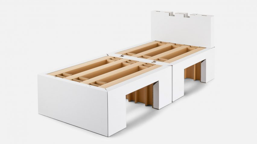 Airweave creates cardboard beds for athletes at Tokyo 2020 Olympics