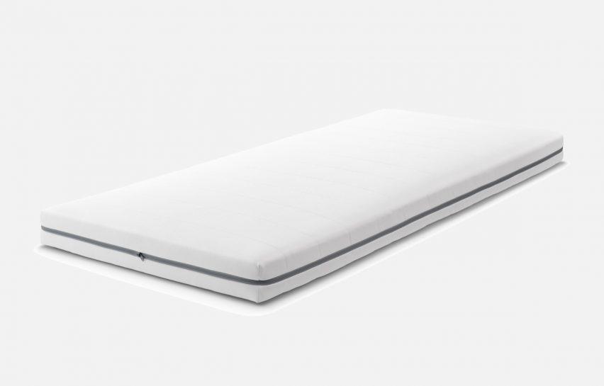 Airweave's white mattress