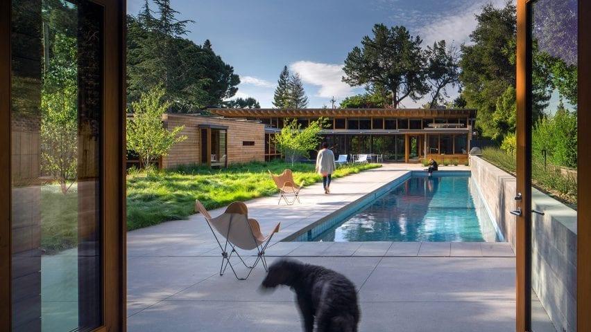 Los Altos Residence in Silicon Valley, California, by Bohlin Cywinski Jackson