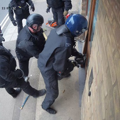 Police raid Antepavilion office in London